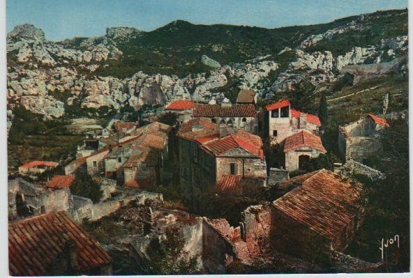 Carte Postale Ancienne Les Beaux de Provence (B du R) 2 Mèze (34)
