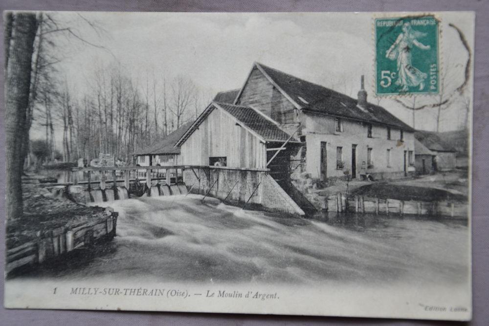 Carte postale ancienne MILLY SUR THERAIN 10 Bonnières (60)