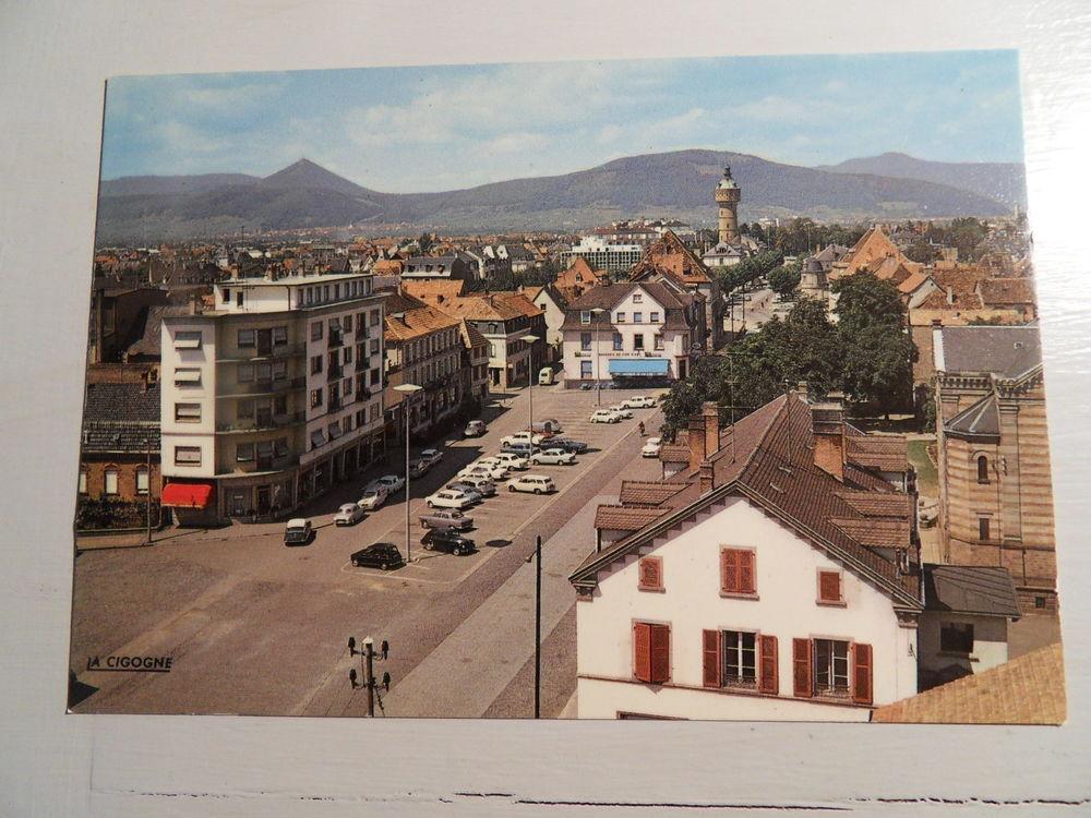 Carte Postale Ancienne Ville de Selestat (Bas-Rhin). 3 Mèze (34)