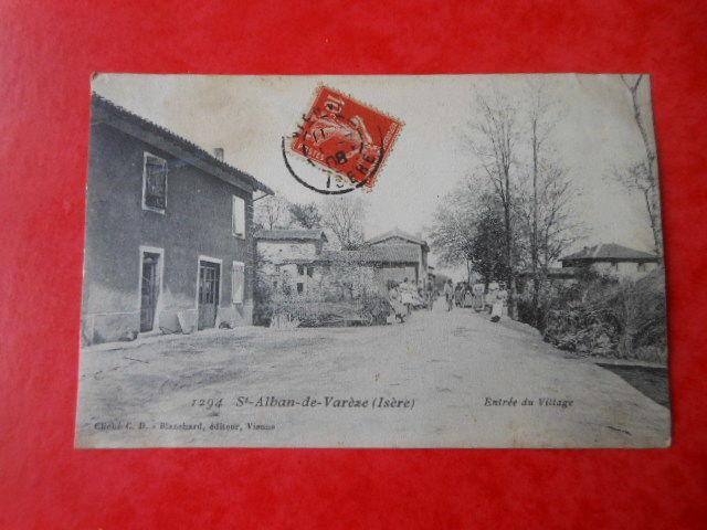 carte postale ancienne Saint Alban de Vareze CPA 7 5 Grézieu-la-Varenne (69)
