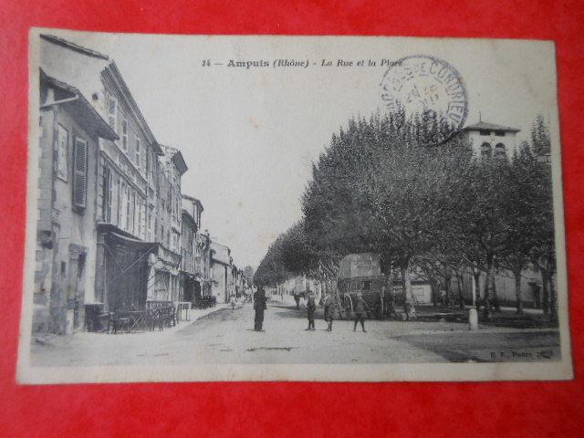 carte postale ancienne Ampuis (Rhone)  CPA 4 3 Grézieu-la-Varenne (69)