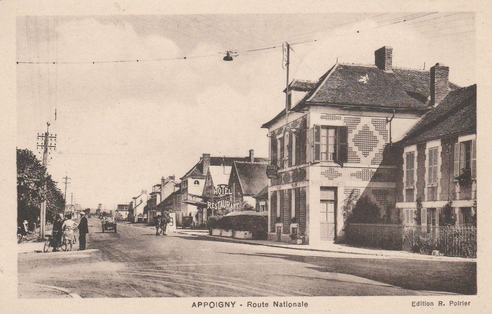 Carte postale Appoigny 89 4 Serémange-Erzange (57)