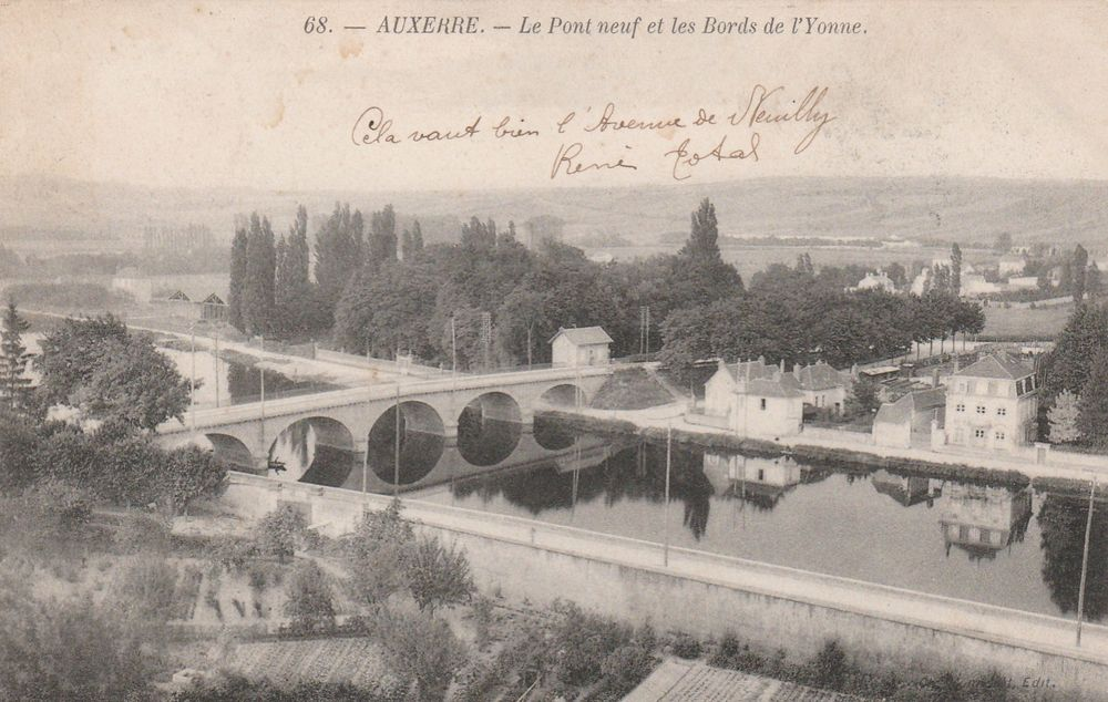 carte postale Auxerre 5 Serémange-Erzange (57)