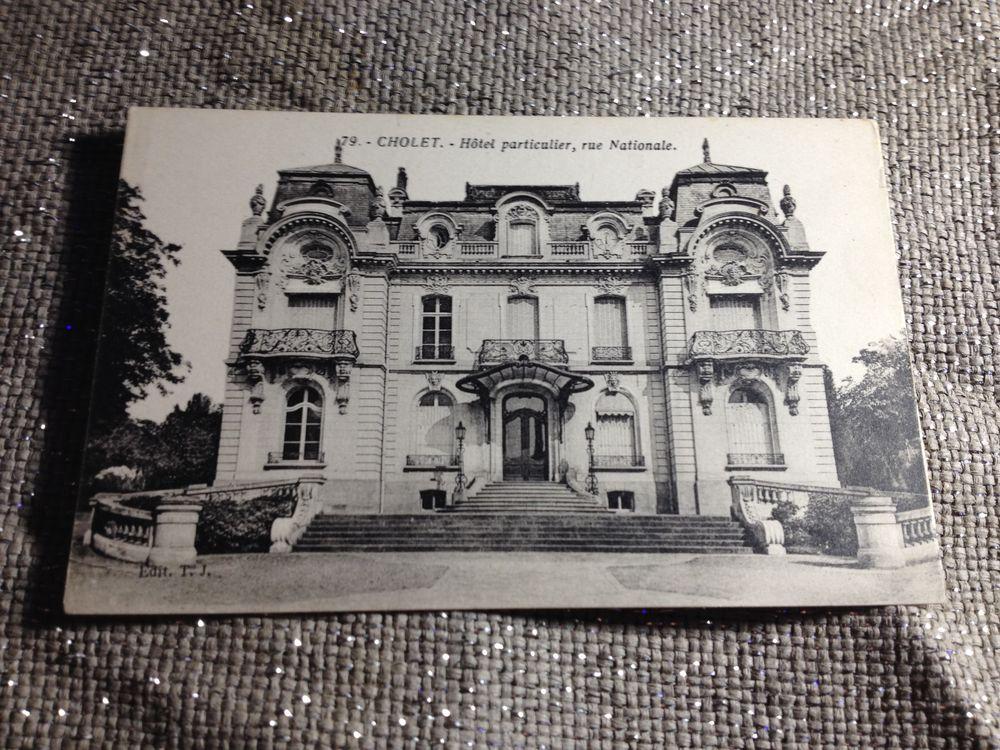 Carte Postale : C.P.A. / Cholet. 0 Limoges (87)