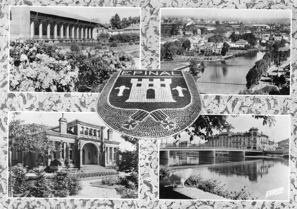 CPA - Carte postale -France -  VOSGES - EPINAL. 1 Caumont (09)