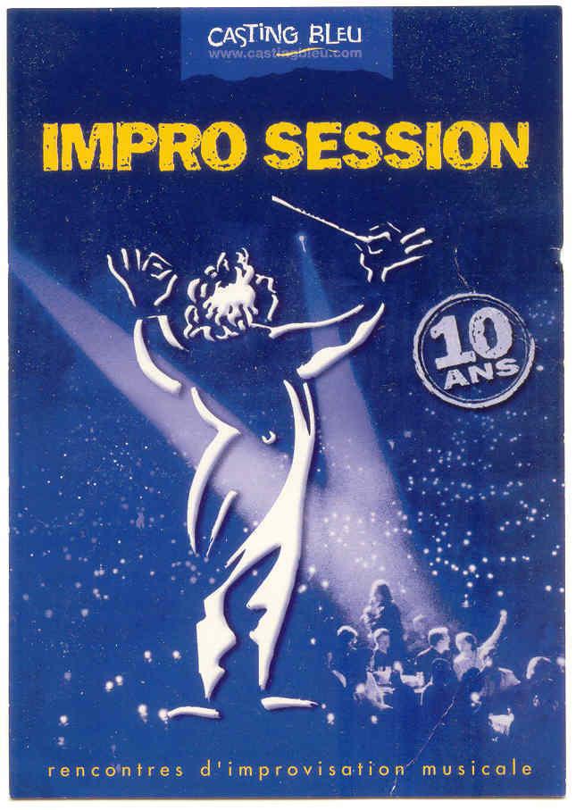 Carte postale Impro session 20cts 0 Lille (59)