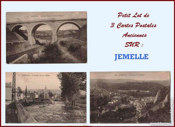 CARTE POSTALE - JEMELLE 15 Laon (02)