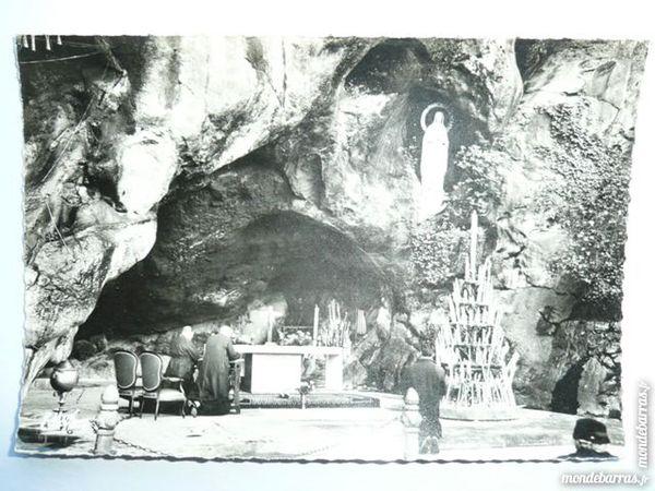 Carte postale Lourde N°145 La Grotte Miraculeuse 4 Bordeaux (33)