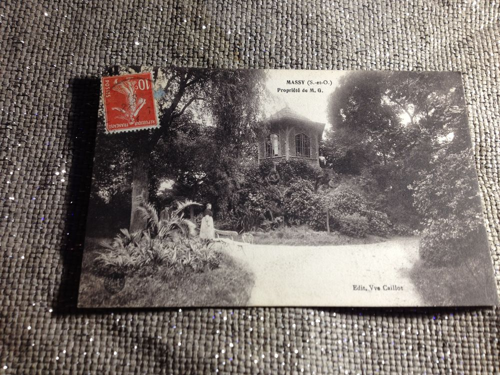 Carte Postale : C.P.A. / Massy. 0 Limoges (87)