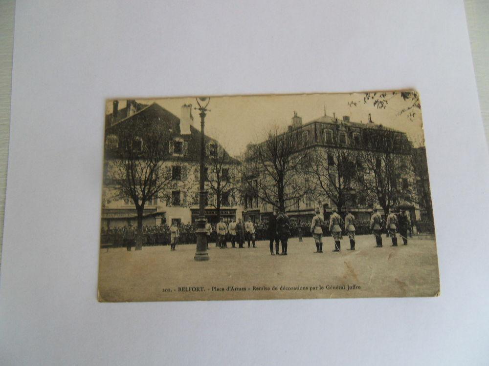 Carte Postale Rare....Militaire Ancienne BELFORT. 5 Mèze (34)