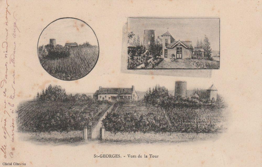 Carte postale Saint-Georges sur Baulche 4 Serémange-Erzange (57)