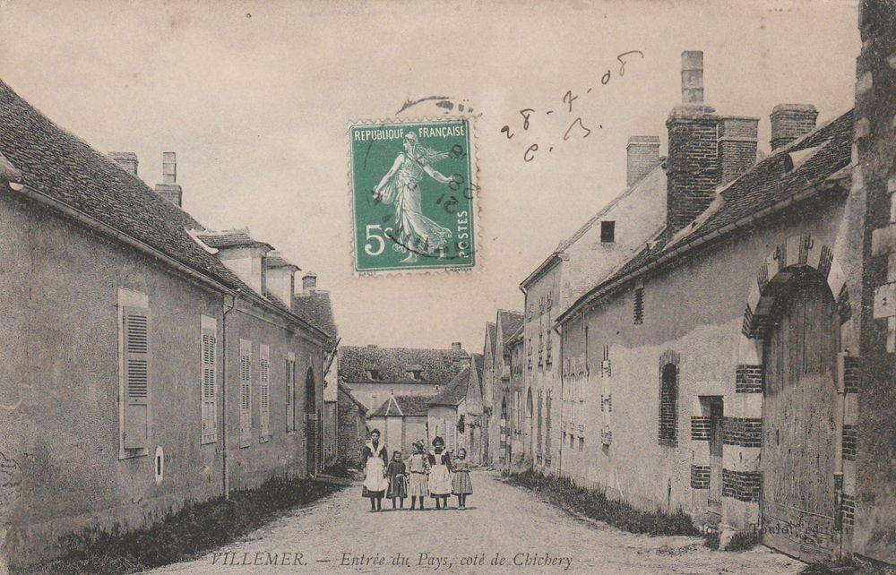 Carte postale Villemer 89 8 Serémange-Erzange (57)