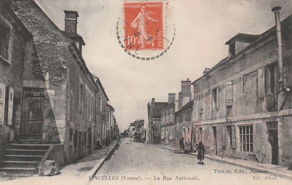 Carte postale Vincelles 89 4 Serémange-Erzange (57)