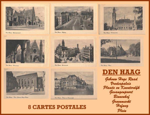 CARTE POSTALES - DEN HAAG / prixportcompris 5 Lille (59)