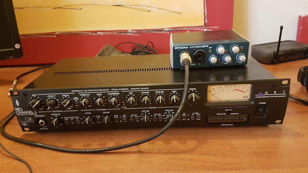 carte son presonus audio box USB 96 60 Vannes (56)