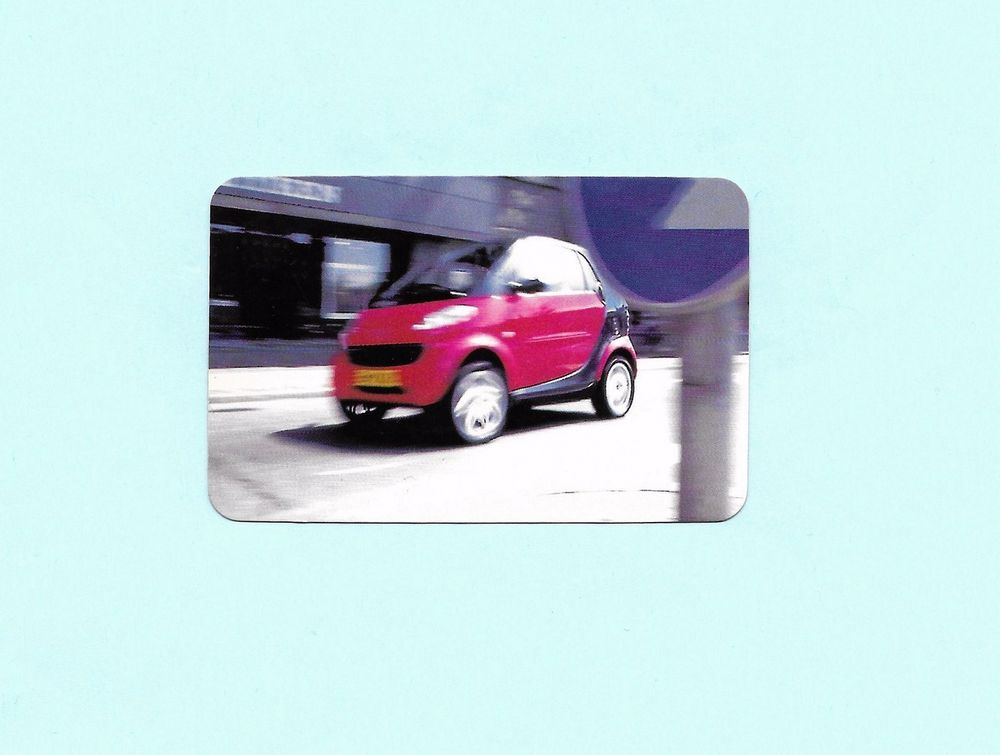 CARTE Promo Voiture SMART-REDUCE TO THE MAX-Benelux 2 Tourcoing (59)