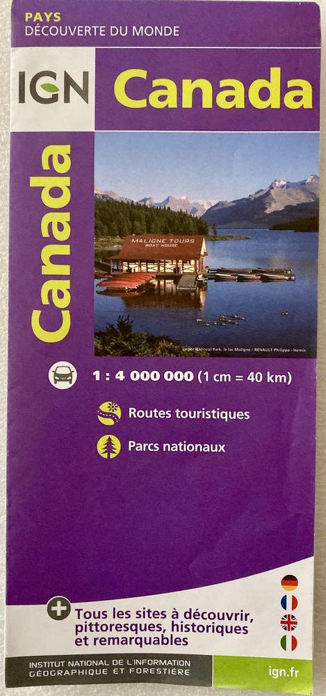Carte routière du Canada  IGN  6 Joué-lès-Tours (37)