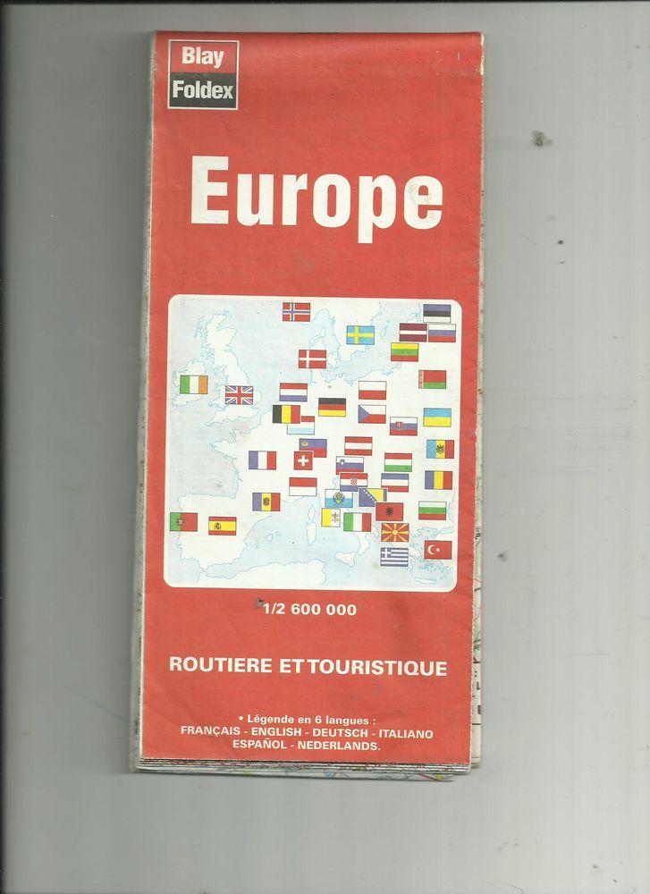 CARTE ROUTIERE DE L EUROPE 3 Saint-Denis-en-Val (45)