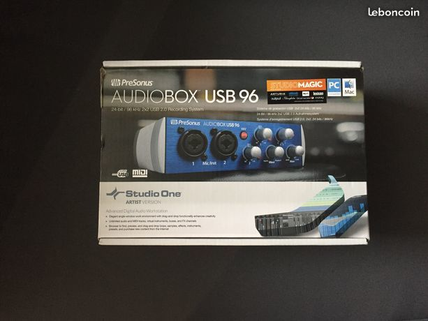 Carte sons audiobox usb 96 70 Joué-sur-Erdre (44)