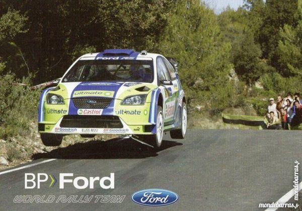carte TEAM Ford rallye 4 Aubenas (07)