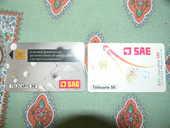 Carte telephonique SAE rare +1 gratuite 65 Pierrefitte (79)