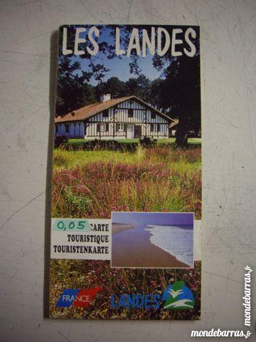 Carte Touristique Des Landes à 0,05 € 1 Bouxwiller (67)