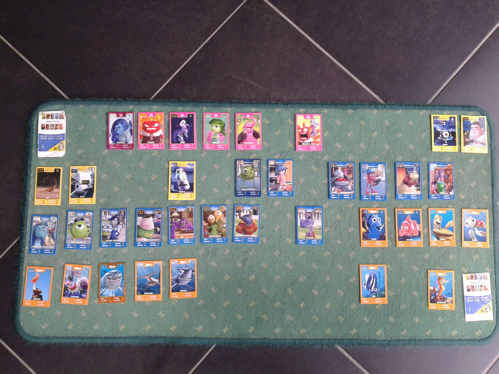 Cartes Auchan Disney Pixar Héros Disney Pixar 1 Arques (62)