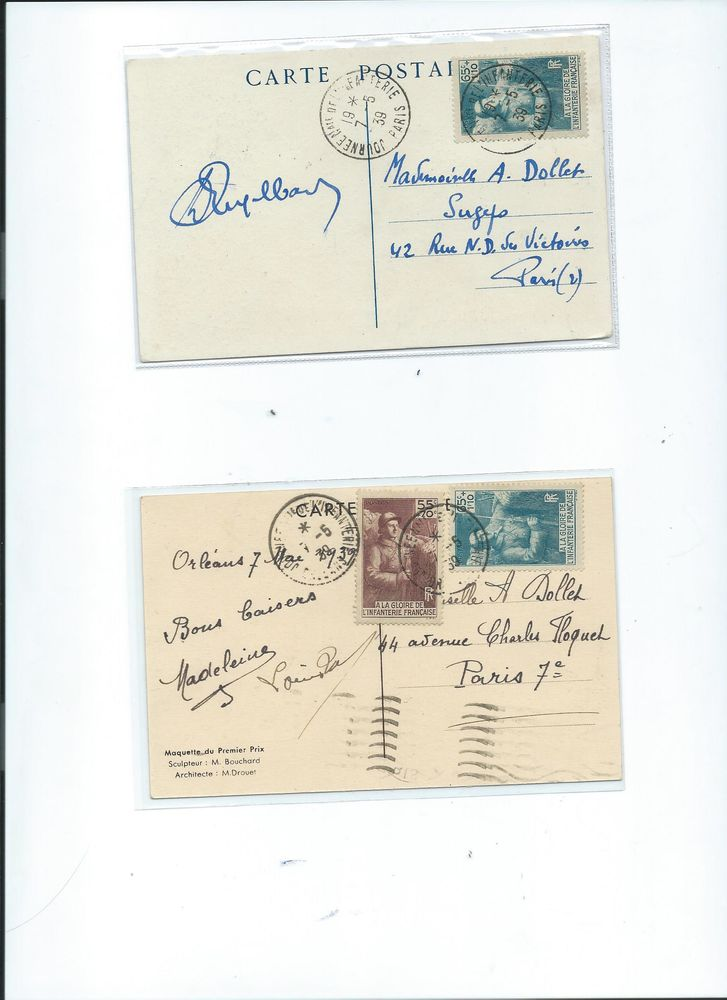 Cartes Commémoratives   INFANTERIE FRANCAISE   0 Mulhouse (68)