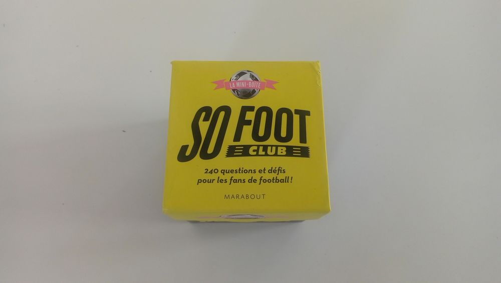 Jeu de cartes So Foot Club Occasion Jeux / jouets