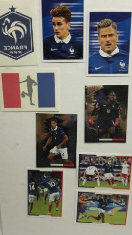 Cartes Foot Euro 2016 Panini Carrefour 0 Follainville-Dennemont (78)