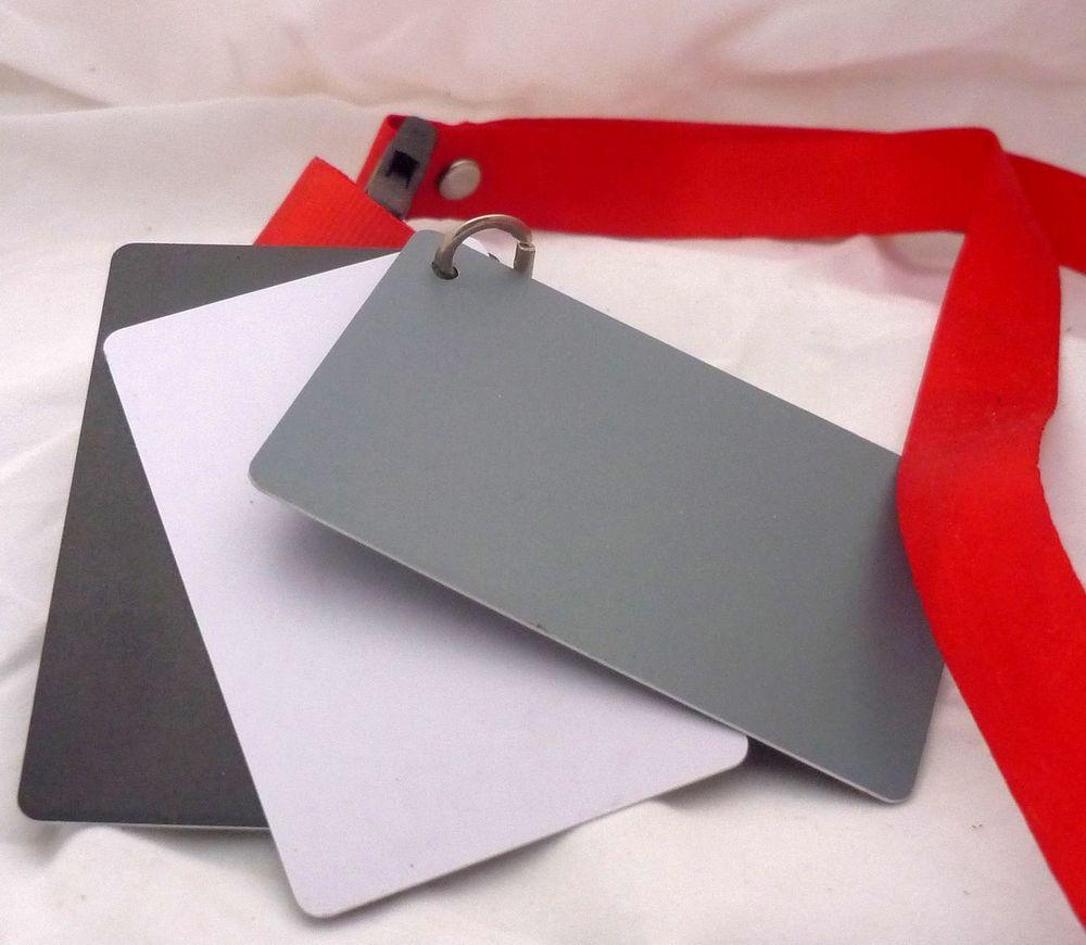 Cartes gris neutre, noir, blanc (étalonnage BdB)  4 Serres (05)