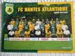 30 cartes des JOUEURS du FC NANTES. 2002/2003
