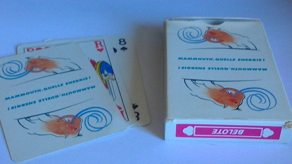 Jeu de cartes mammouth 10 Vitry-sur-Seine (94)