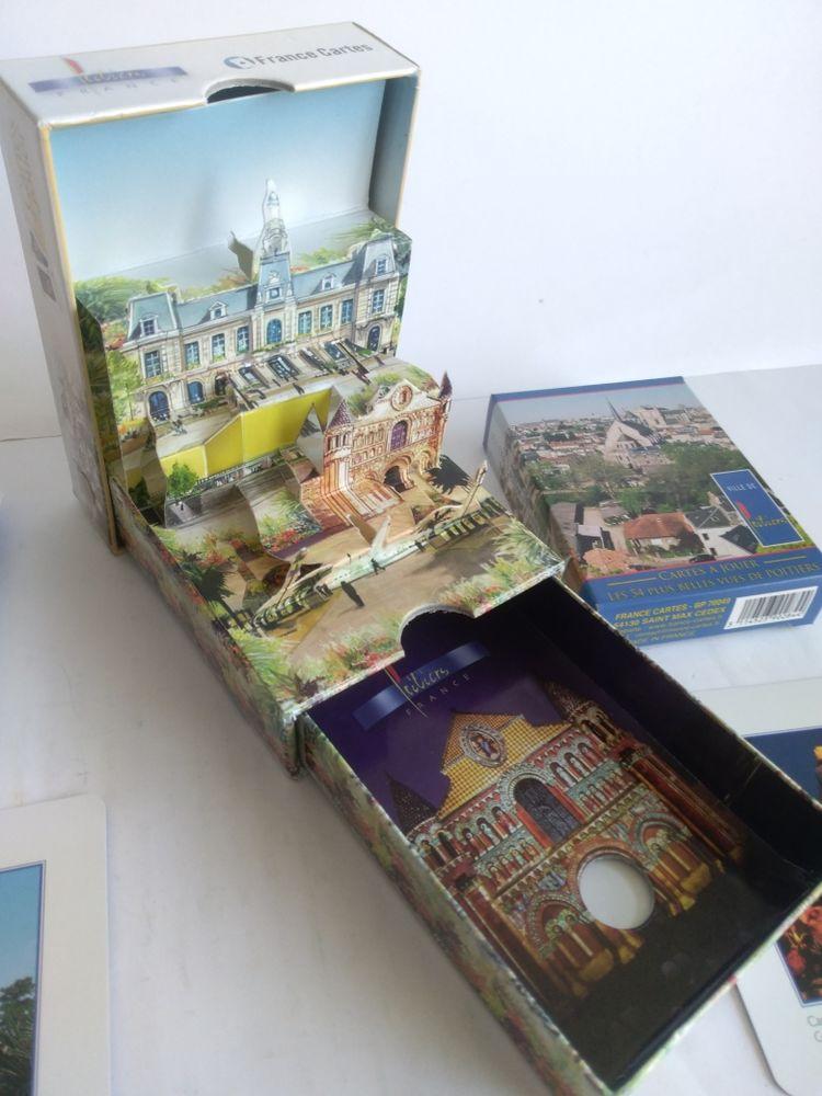 Jeu 54 cartes Poitiers avec boîte 15 Calais (62)