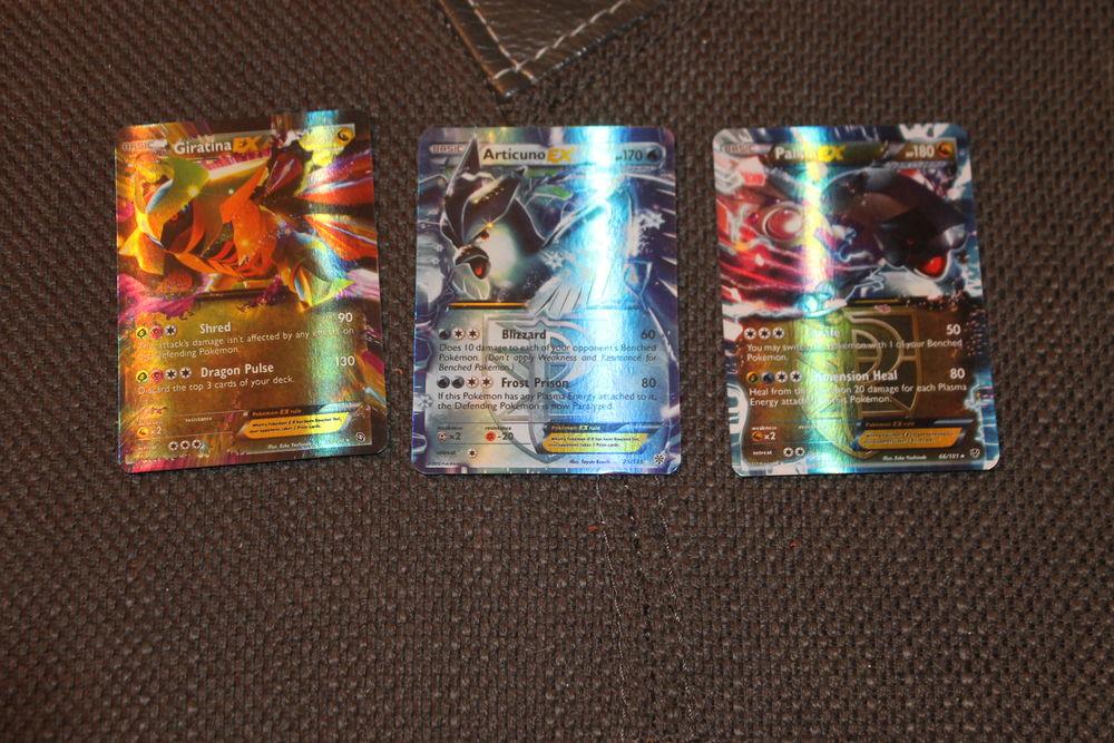 Cartes pokemon Ex anglaises 12 Talence (33)