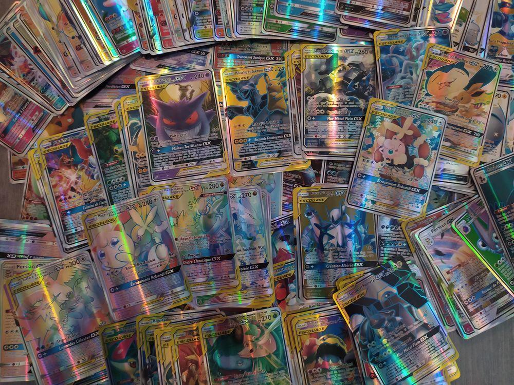 Lot de 30 cartes Pokémon GX et Escouade en Français 15 Saint-Étienne-au-Mont (62)