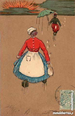 cartes postal ancienne humoristique 2 Lumigny-Nesles-Ormeaux (77)