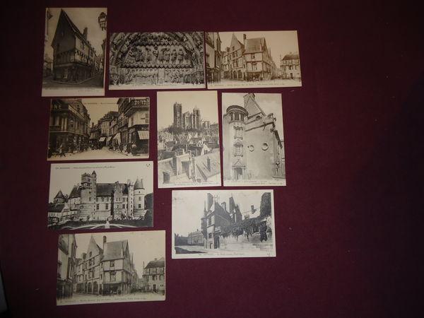 lot de 8 cartes postales 1920 BOURGES 10 Thaon-les-Vosges (88)