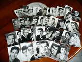Lot de 43 cartes postales acteurs chanteurs (euse) 65 Bordeaux (33)