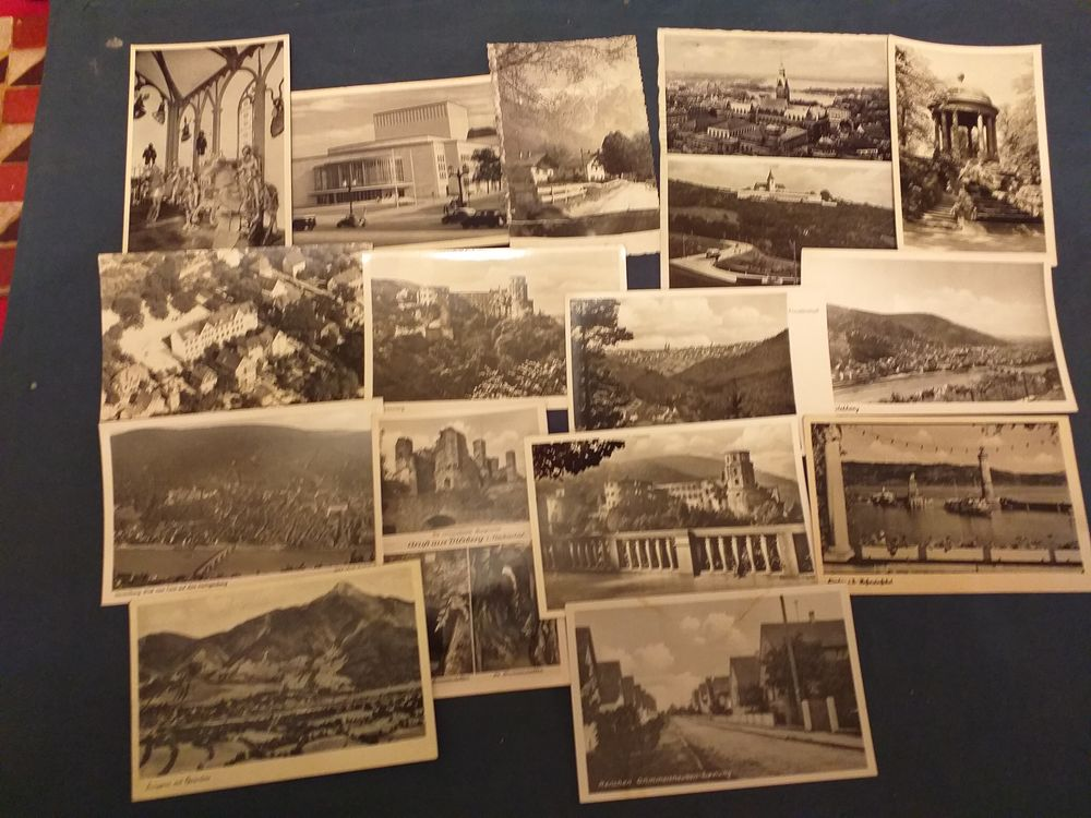 lot de 15 cartes postales de L'Allemagne en cpa et cpsm 12 Tours (37)