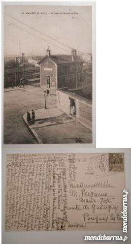 Cartes postales anciennes Mantes la Ville et Dijon 10 Wambrechies (59)