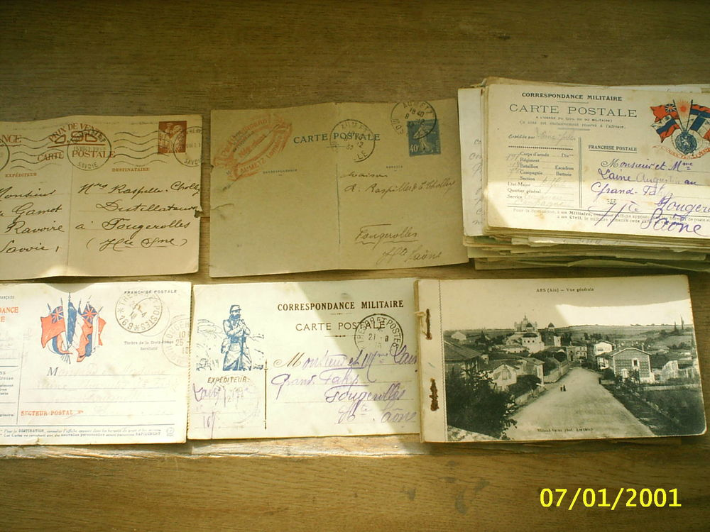 cartes postales anciennes  100 Froideconche (70)