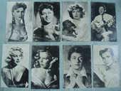 Cartes postales anciennes d'acteurs et actrices 3 Nantes (44)
