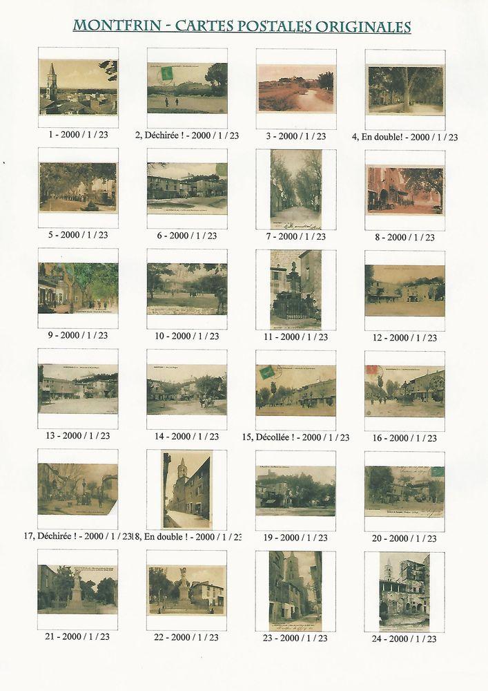 CPA (Cartes Postales Anciennes) de Monfrin, Theziers, Aramon 10 Théziers (30)
