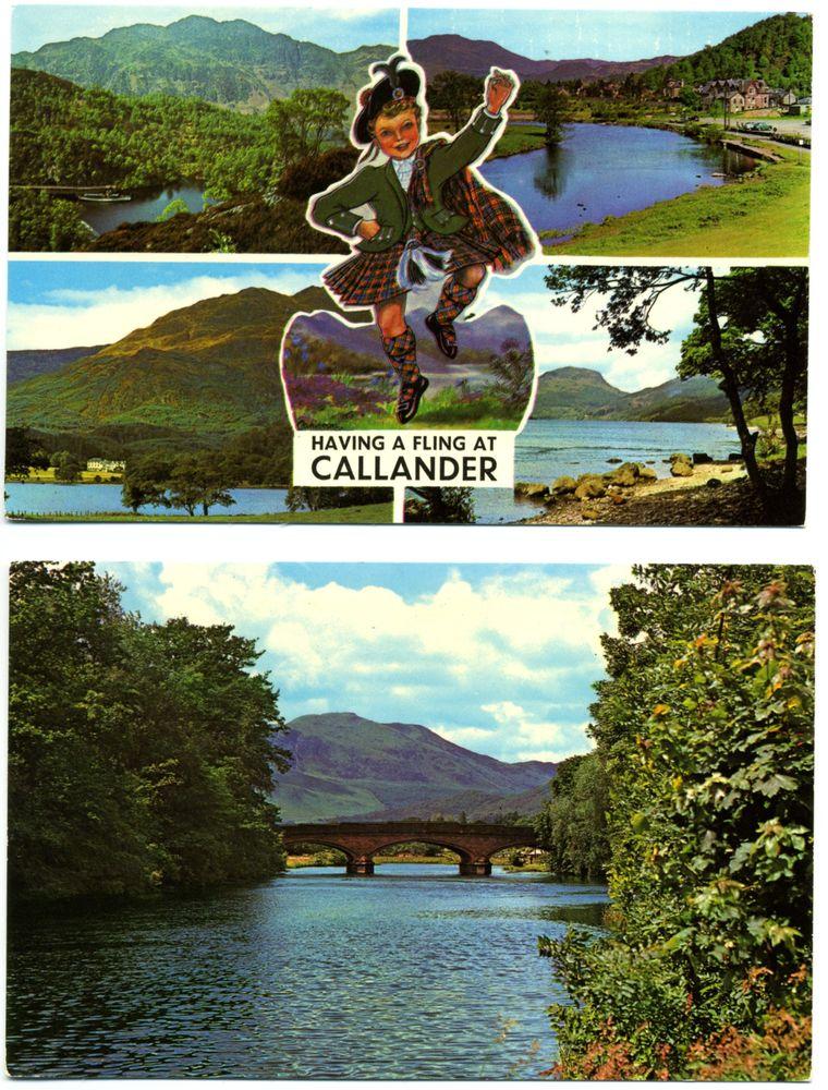 lot de 13 cartes postales anciennes : Angleterre, Irlande et 14 Florange (57)