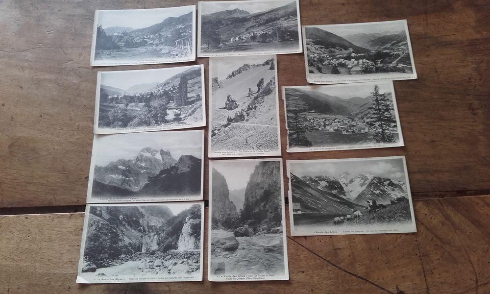 Lot de 10 Cartes Postales Anciennes QUEYRAS 10 Saint-Martin-de-la-Brasque (84)