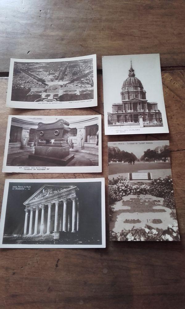 Lot de 5 cartes postales anciennes de Paris 5 Saint-Martin-de-la-Brasque (84)