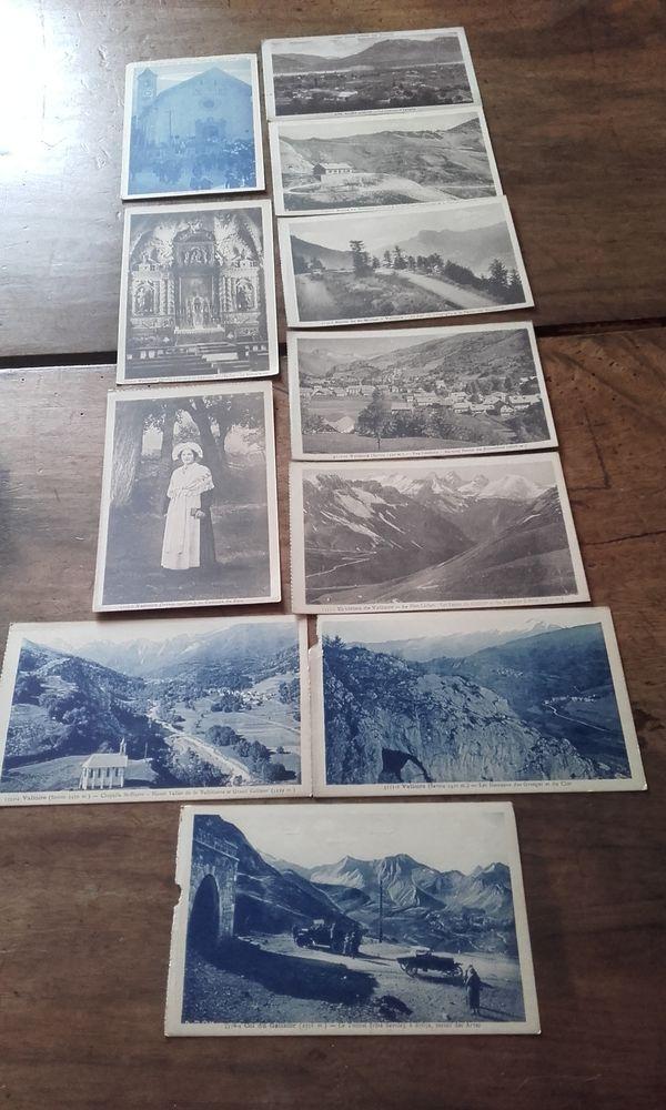 Lot de 11 cartes postales anciennes Savoie Valloire 12 Saint-Martin-de-la-Brasque (84)