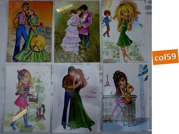 6 cartes postales STE CATHERINE - lot6 6 Mons-en-Barœul (59)