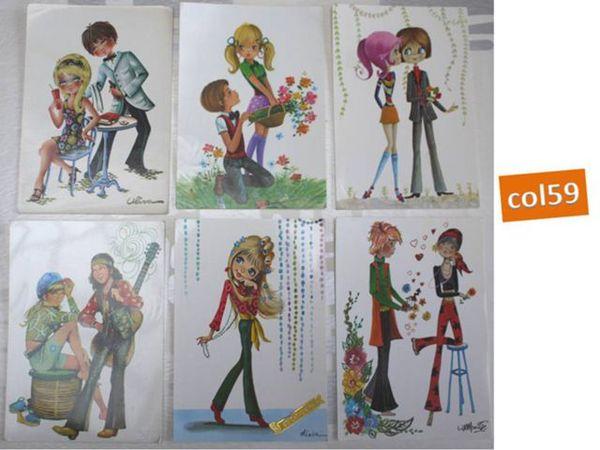 6 cartes postales STE CATHERINE - lot7 6 Mons-en-Barœul (59)